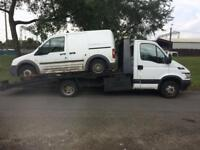 SCRAP MY CAR!!! CARS AND VANS WANTED CASH ON COLLECTION TOP PRICES PAID