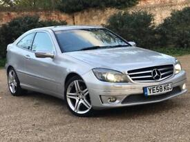 IMMACULATE MERCEDES BENZ CLC 230 KOMPRESSOR LEATHER Audi Bmw Cat D