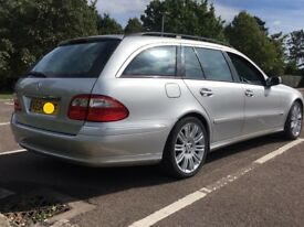 Mercedes estate 7 seater E240 avantgarde lovely condition 1 previous owner full MBssh