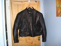 Leather Buffalo bikers jacket. In excellent condition 4xl