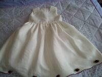 Bridesmaids dresses age 2/3 and 12/18 months