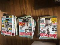 Mens health magazines joblot