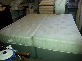 Double Super King Divan Bed