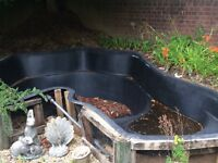 Pre formed Large fish pond