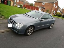 MERCEDES CLK 200K AVANTGARDE Automatic Damage Repaired CAT D 2008 HI-SPEC