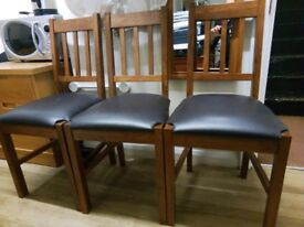 STUNNING CONDITION DINING KITCHEN TABLE + 6 CHAIRS + DELIVERY
