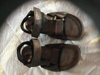 Various walking shoes boots sandals male female