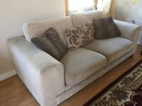 2 and 3 seater dfs sofa for sale great condition