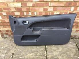 Mk6 Ford Fiesta drivers door card
