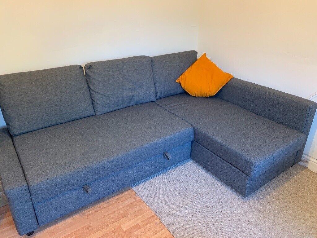 Awe Inspiring Ikea Friheten Corner Sofa Bed With Storage Skiftebo Dark Gray In Frenchay Bristol Gumtree Interior Design Ideas Oxytryabchikinfo