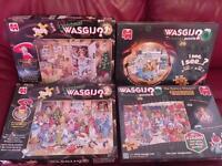 Wasgij 6 Christmas puzzles.