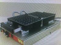 Waffle Griddle/Iron - Top quality, professional waffle maker -Belgian Waffle Iron Store: 3 years old