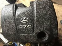 toyota auris diesel 2007 to 2009 engine cover