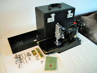 Singer 221K Sewing Machine - 1951 Centennial Edition - Complete Package