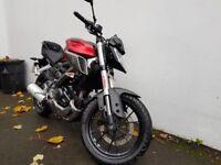 Yamaha mt 125 bike