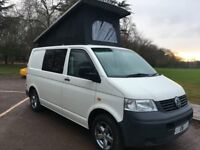 VW T5 TRANSPORTER POP TOP CAMPER MOTORHOME