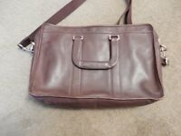 Coach Leather Brown Mens Briefcase Bag F70662 Embassy