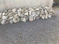 Limestone ,suitable for walling,rockery etc