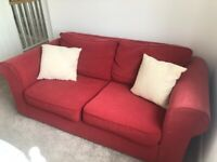 Red double sofabed