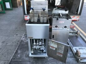 USED GAS FRYER CATERNG COMMERCIAL KITCHEN FAST FOOD