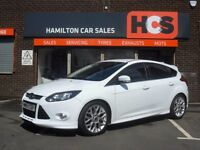 Excellent Condition Ford Focus 1.0 ( 125ps ) EcoBoost Zetec S - 1 Years free road tax & AA cover