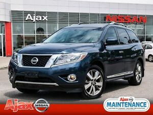2014 Nissan Pathfinder Platinum*Naigation*DVD