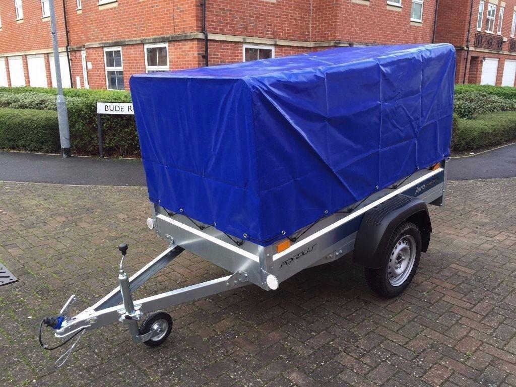BRAND NEW CAR BOX TRAILER FARO PONDUS 750KG