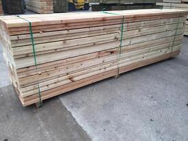 Wooden Scaffold Style Boards/ Planks •New• 225mm X 38mm X 12FT/14Ft - Joists/ Diy Etc🌲