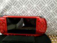 PSP RED bundle