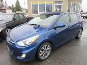 2017 Hyundai Accent SE + TOIT OUVRANT, MAGS, AC, CRUISE, BLUETOO