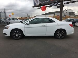 2012 CHRYSLER 200 S CONVERTIBLE- HARD-TOP, NAVIGATION, LEATHER H