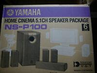 Yamaha NSP100 Home cinema speakers