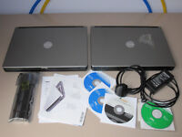 Dell Laptops X 2 + Dell Disks + Spare Brand New Battery