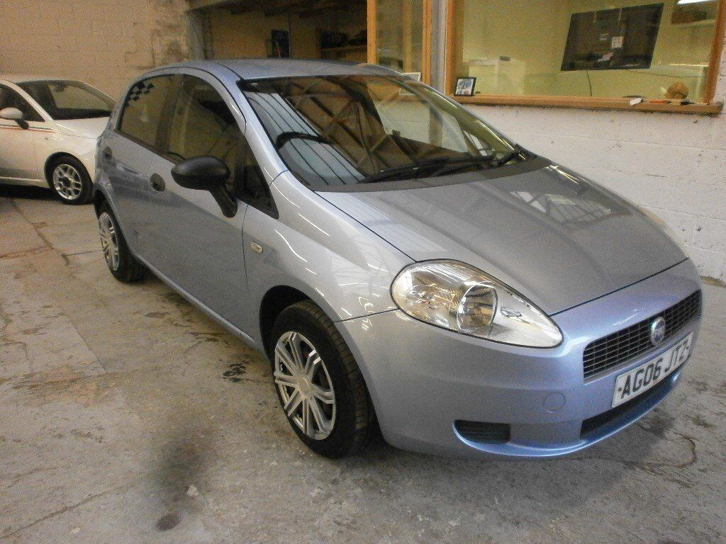 2006 FIAT GRANDE PUNTO 1,2 ACTIV 5DOOR, SERVICE HISTORY, CLEAN CAR, DRIVES NICE, HPI CLEAR