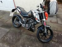 Used Ktm duke 125 for Sale | Motorbikes & Scooters | Gumtree