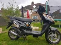 50cc generic cracker moped