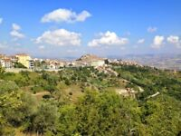 Italian 2 Bedroom Cottage Apartment, sat high in the mountainous Campagnia region.
