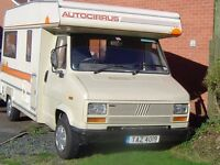 FIAT DUCCATO MOTORHOME (with POWER steering)