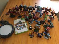 Skylanders giants game Xbox 360 and 28 figures