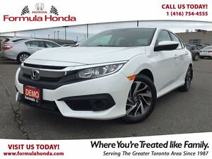 2017 Honda Civic Sedan EX | NEAR BRAND NEW - EXECUTIVE DRIVEN DE