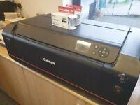 CANON imagePROGRAF PRO-1000 (A2) DESKTOP INKJET PRINTER+ALL INKS FOR FREE OFFER
