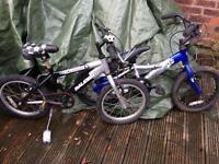 2 Boys Bikes Free Free Free!!