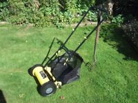 Lawnmower (cylinder, push type) dated 201702 Challenge GT5614. Owner moving abroad.