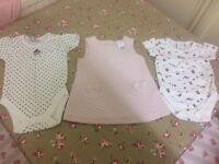 jasper conran junior j bundle baby girl dress and tops 3-6