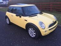 2003 MINI ONE AUTO # AUTOMATIC # MOT TO OCTOBER 2018