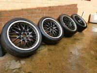 """18"""" 5x112 MERCEDES ALLOY WHEELS AND TYRES"""