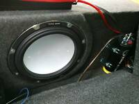 Vibe audio sub and amp