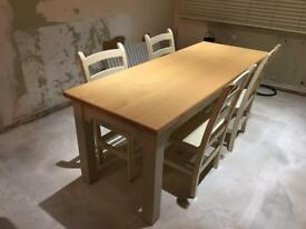 John Lewis Of Hungerford Dining Table 6x Chairs For Sale