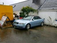 Audi a4 convertible 3.0 Quattro