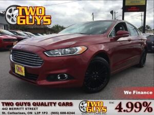 2014 Ford Fusion SE LEATHER MOON ROOF BACK UP CAMERA